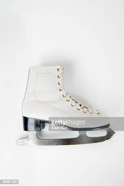 a still life studio shot of an ice skate - ice skate stock pictures, royalty-free photos & images