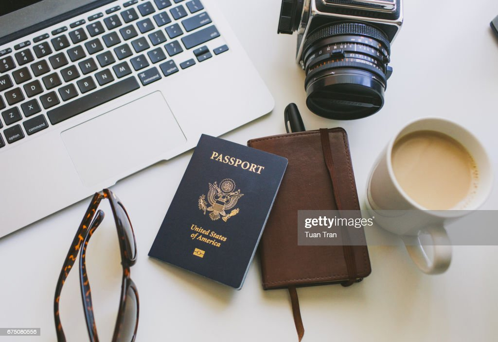 Still life travel : Stock Photo