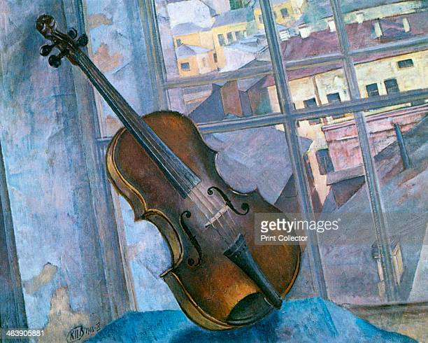 'Still Life With a Violin' 1918 From the collection of the State Russian Museum St Petersburg Russia