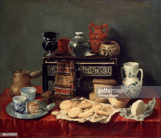 'Still Life with an Ebony Chest', 1652. Found in the collection of the State Hermitage, St Petersburg.