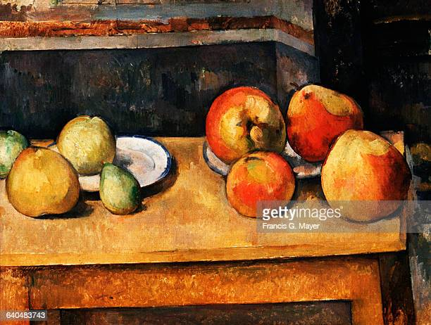 Still Life with Apples and Pears by Paul Cezanne