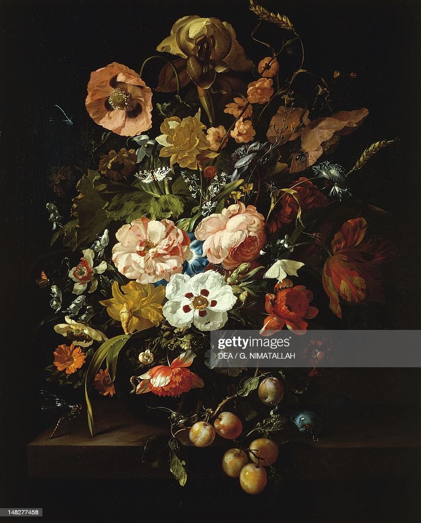 Still Life With Flowers And Fruit By Rachel Ruysch 1664 1750