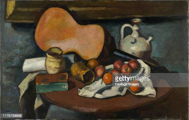 Still Life with Guitar 1920s Found in the Collection of Musée national d'art moderne Centre Georges Pompidou Paris Artist Ortiz de Zárate Manuel