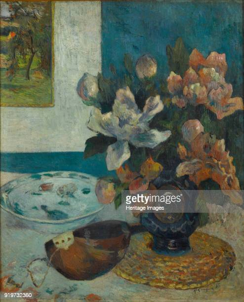 Still Life with Mandolin 1885 Found in the Collection of Musée d'Orsay Paris