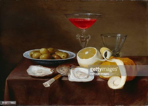 Still Life with Oysters circa 16161666 Artist Jacob Foppens van Es