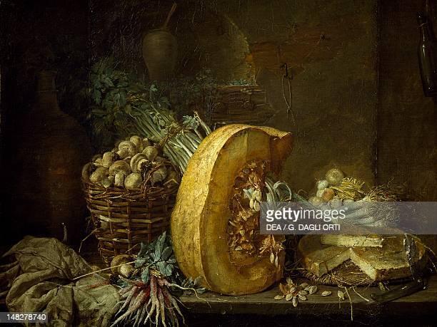 Still life with vegetables by Henri Horace Roland de la Porte Rouen Musée Des BeauxArts