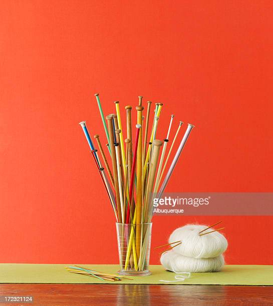 Still Life-Knitting Needles