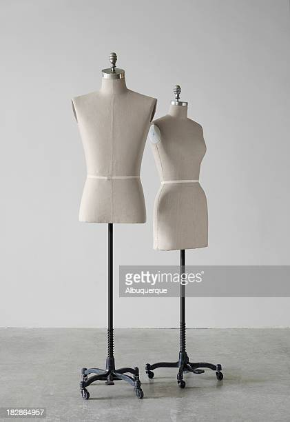 still life-mannequin a - male torso stock photos and pictures