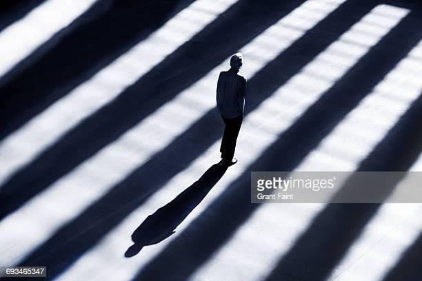 Still man standing.