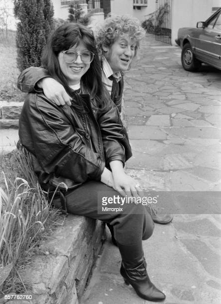 Still the very best of friends Noddy Holder and his wife Leandra at the luxury home they share in Cannock Chase Staffordshire 23rd May 1985