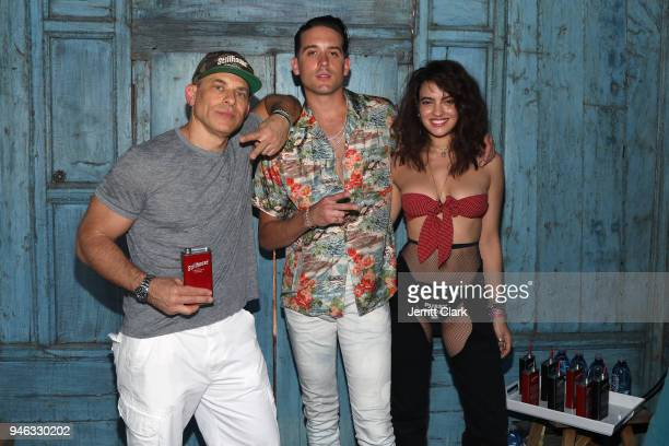 Stillhouse CEO Brad Beckerman GEazy Stillhouse Spirits Co Partner and CoCreative Director and PMOY 2018 Nina Daniele attend the Pool Party at Playboy...