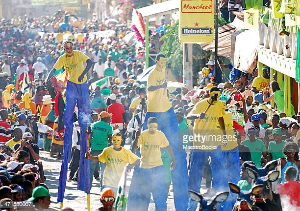 stilt walker parade - creole culture stock pictures, royalty-free photos & images