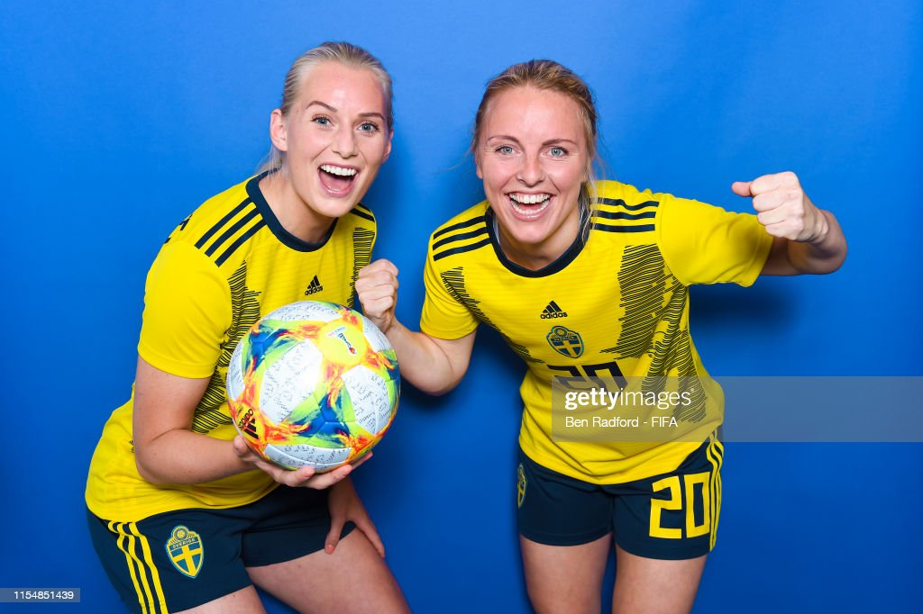 Sweden Portraits - FIFA Women's World Cup France 2019 : News Photo