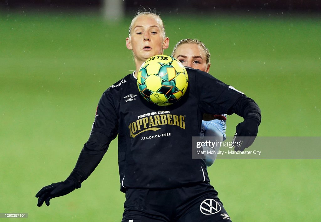 Goteborg v Manchester City Women: UEFA Women's Champions League : News Photo