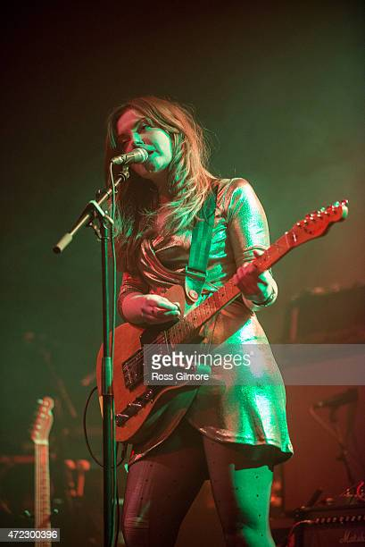 Stina Tweeddale of Honey Blood performs at the Stag and Dagger festival on May 3 2015 in Glasgow United Kingdom