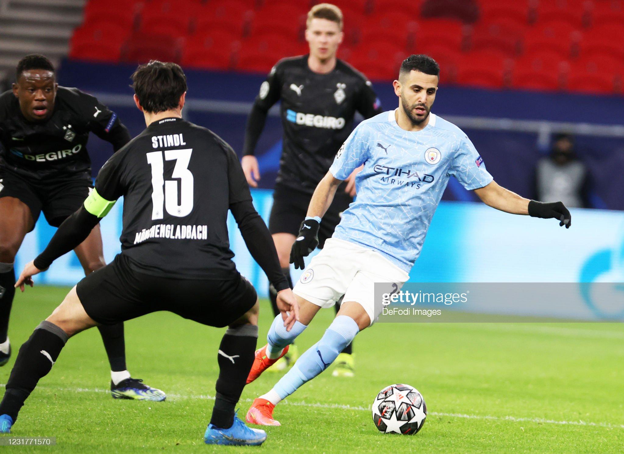 Manchester City v Bor. Mönchengladbach  - UEFA Champions League Round Of 16 Leg Two : News Photo