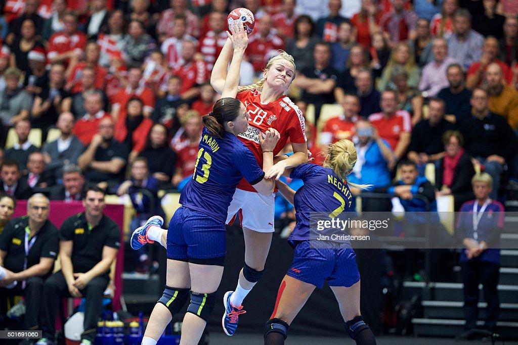 Denmark v Romania - 22nd IHF Women's Handball World Championship, Quarter Final : News Photo