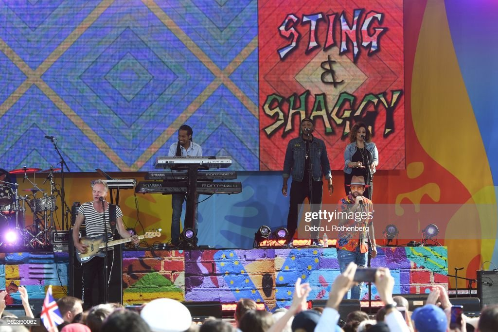 "Sting and Shaggy Performs On ABC's ""Good Morning America"""