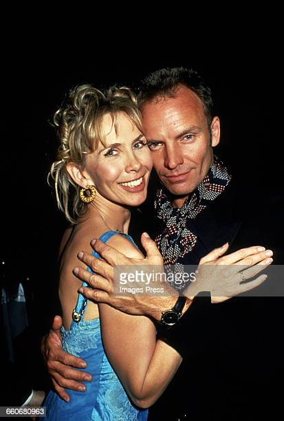 Sting and wife Trudie Styler circa 1994 in New York City