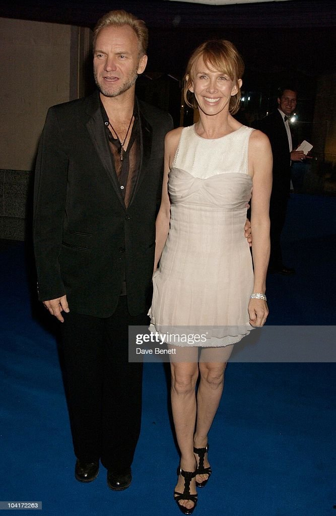 Sting And Wife Trudie Styler, 'Master And Commander: The Far Side Of The World' Royal Premiere After Party At Billingsgate Fish Market, London