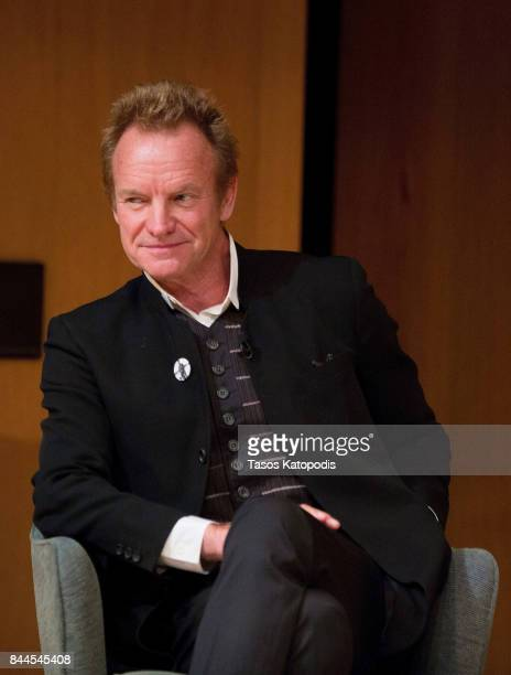 Sting at Smithsonian National Museum Of American History on September 8 2017 in Washington DC