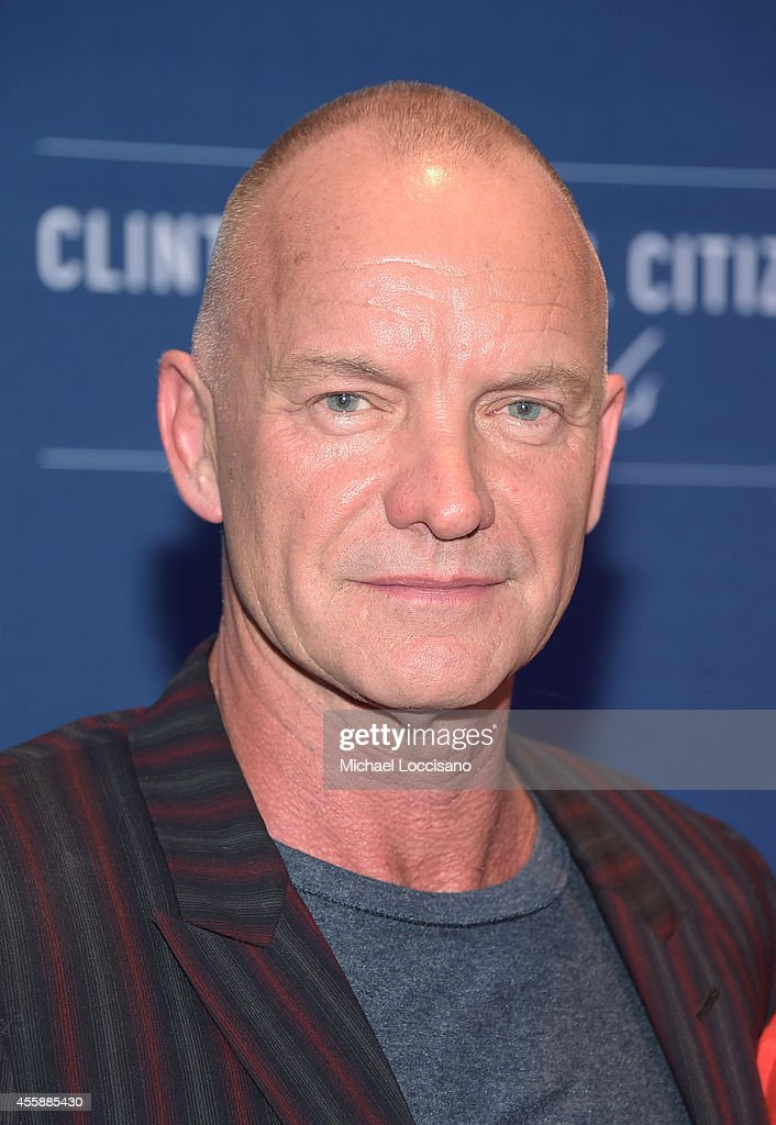 Sting attends 8th Annual Clinton Global Citizen Awards at Sheraton Times Square on September 21, 2014 in New York City.