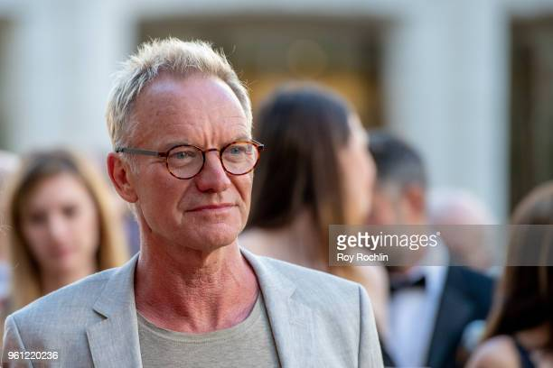 Sting attends the 2018 American Ballet Theatre Spring Gala at The Metropolitan Opera House on May 21 2018 in New York City