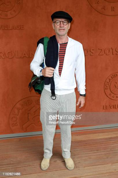 Sting attends the 2019 French Tennis Open - Day Five at Roland Garros on May 30, 2019 in Paris, France.