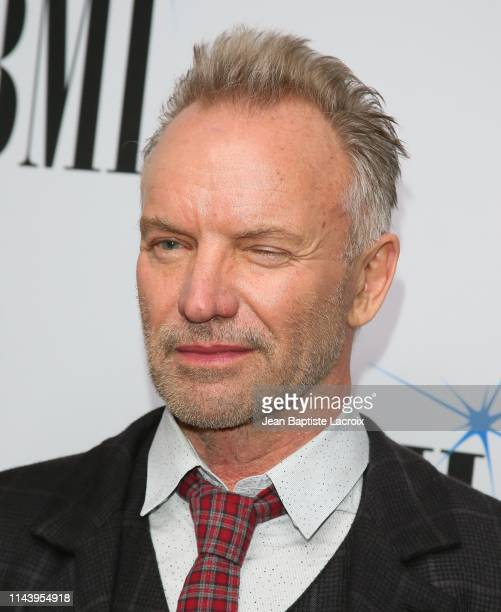 Sting attends the 67th Annual BMI Pop Awards at the Beverly Wilshire Four Seasons Hotel on May 14, 2019 in Beverly Hills, California.