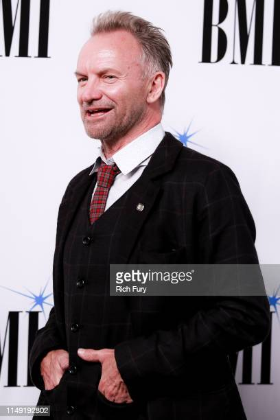 Sting attends the 67th Annual BMI Pop Awards at the Beverly Wilshire Four Seasons Hotel on May 14 2019 in Beverly Hills California