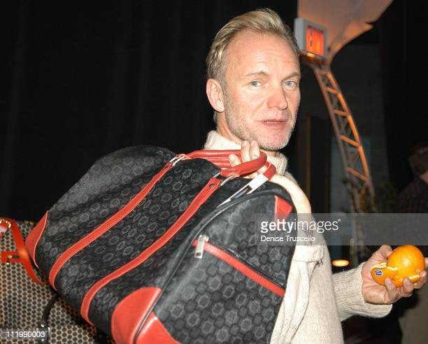 Sting during 2003 Billboard Music Awards Backstage Creations Gift Retreat - Day 1 at MGM Grand Hotel And Casino Resort in Las Vegas, Nevada.