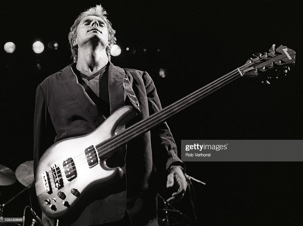 sting of the police performs on stage at ahoy on 10th april 1980 in news photo getty images. Black Bedroom Furniture Sets. Home Design Ideas