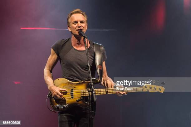 Sting performs at Eventim Apollo on April 9 2017 in London England