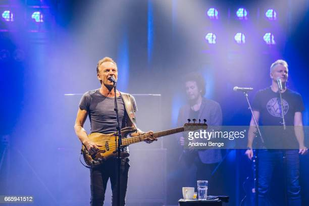 Sting performs at O2 Apollo Manchester on April 7 2017 in Manchester England