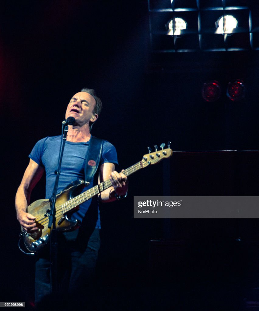 Sting performs at the MGM National Harbor, On Sunday, March 12, in Oxon Hill.