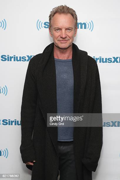 Sting performs at The SiriusXM Studios on November 8 2016 in New York City