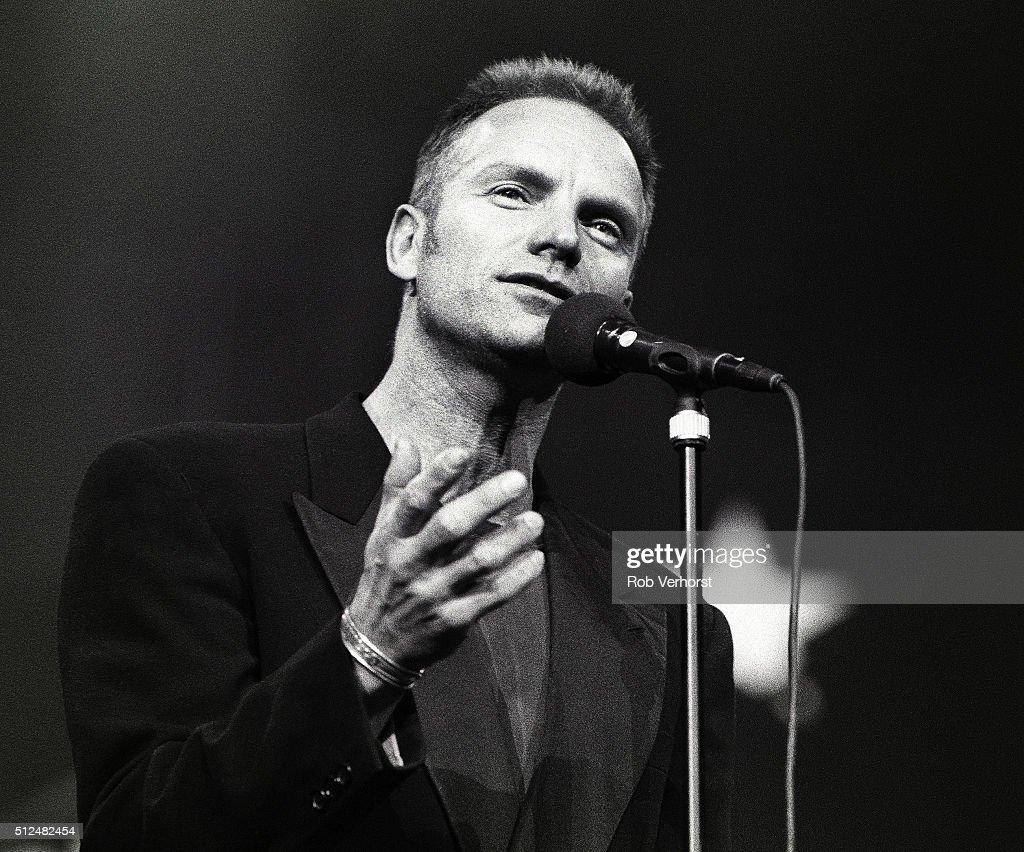 Sting : News Photo