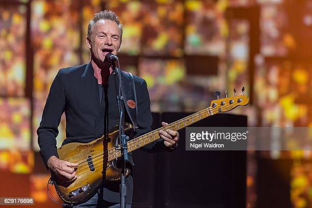 Sting performs on stage during the Nobel Peace Prize Concert at Telenor Arena The Nobel Peace Prize Concert is hosted by Conan O'Brien to honour this...