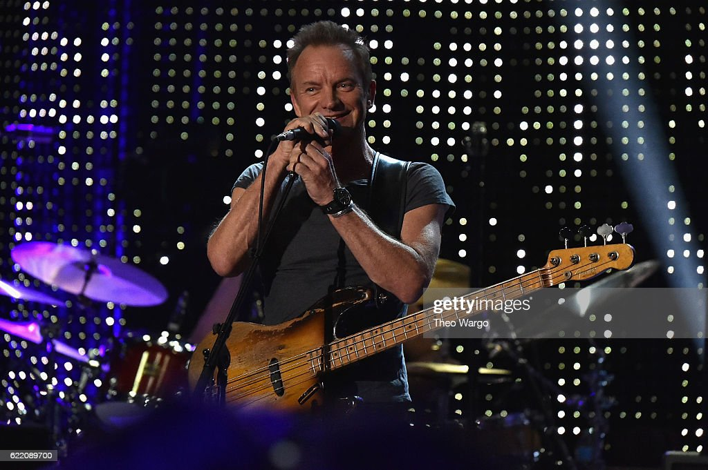 Sting 57th & 9th iHeartRadio Album Release Party On AT&T