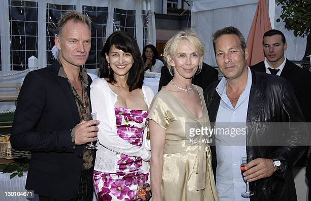 Sting, Ruth Vitale, Trudie Styler and Henry Winterstern