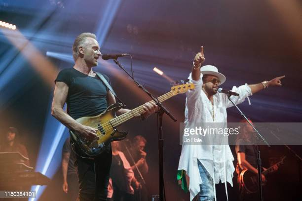Sting Shaggy perform on stage at The Roundhouse on May 19 2019 in London England