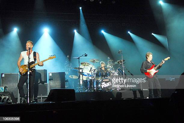 Sting Stewart Copeland and Andy Summers of The Police