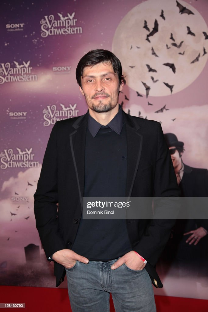 Stipe Erceg attends the 'Die Vampirschwestern' Germany Premiere on December 16, 2012 in Munich, Germany.