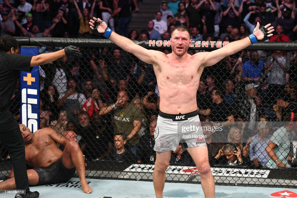 UFC 241: Cormier v Miocic : News Photo