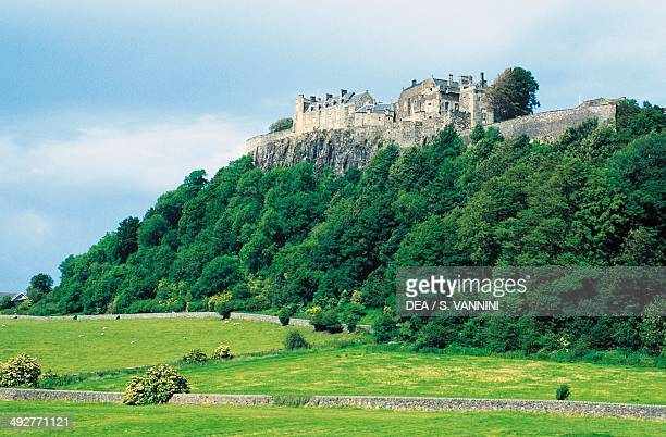 Stirling castle 16th century Scotland United Kingdom