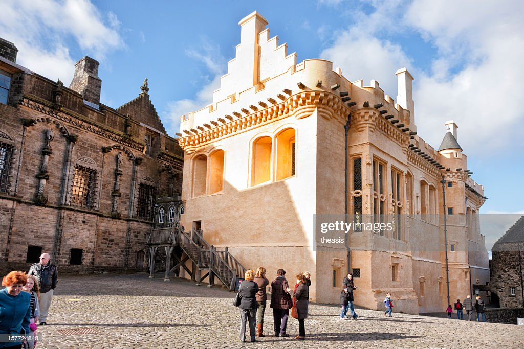 Stirling Castle Great Hall : Stock Photo