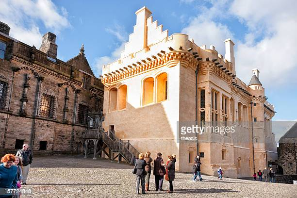 stirling castle great hall - theasis stock pictures, royalty-free photos & images