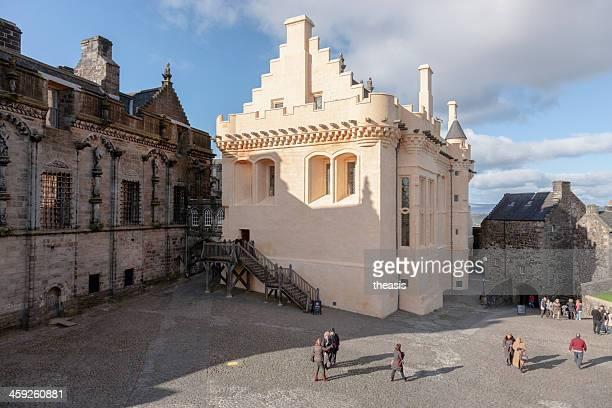 stirling castle great hall - theasis stockfoto's en -beelden