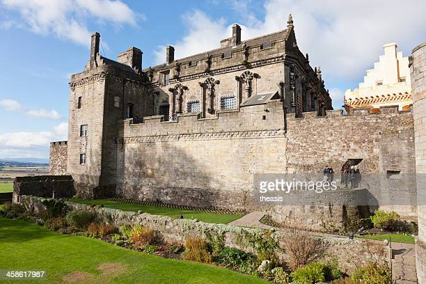 stirling castle palace - theasis stockfoto's en -beelden