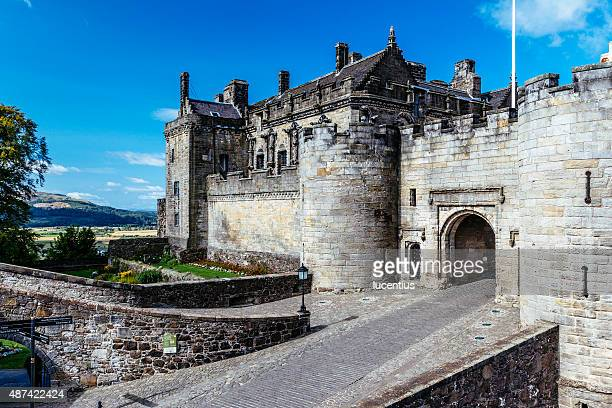 stirling castle,scotland - stirling stock pictures, royalty-free photos & images